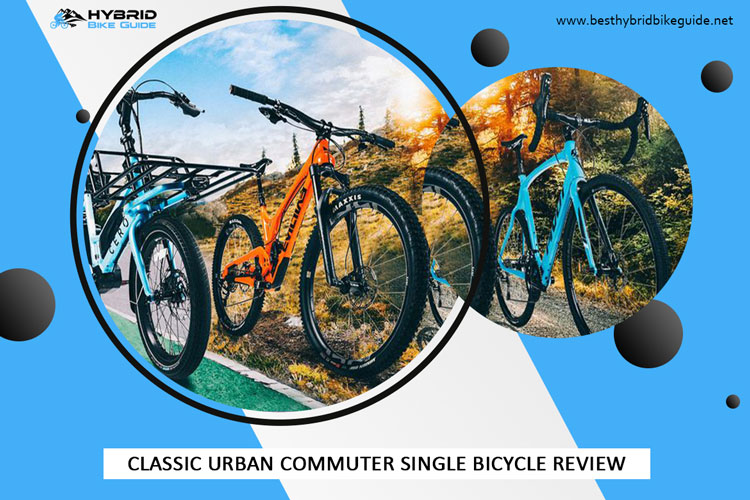 Classic Urban Commuter Single Bicycle Review